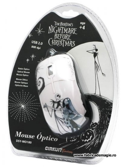 Mouse Nightmare Before Christmas - Disney