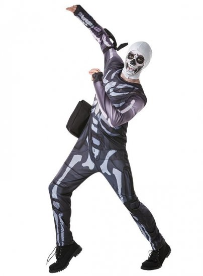 costum-Fortnite-Skull-Trooper-adolescenti-halloween
