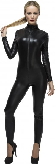 costum-catwoman-negru-wetlook