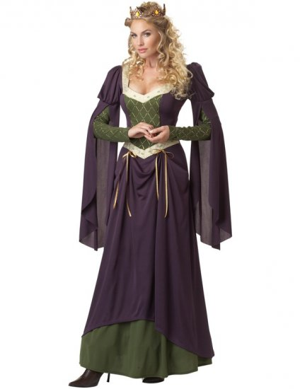 Costum medieval Lady Guinevere