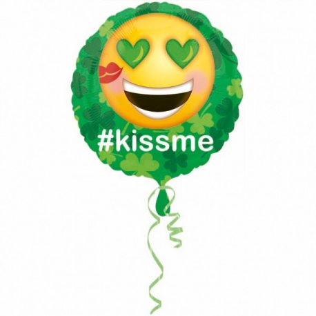 balon-folie-45-cm-emoticon-smiley-kiss-me