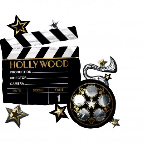 balon-folie-jumbo-movie-Hollywood-Party-decor