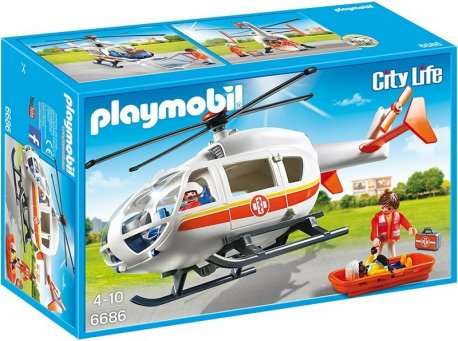 Playmobil elicopter medical de urgenta