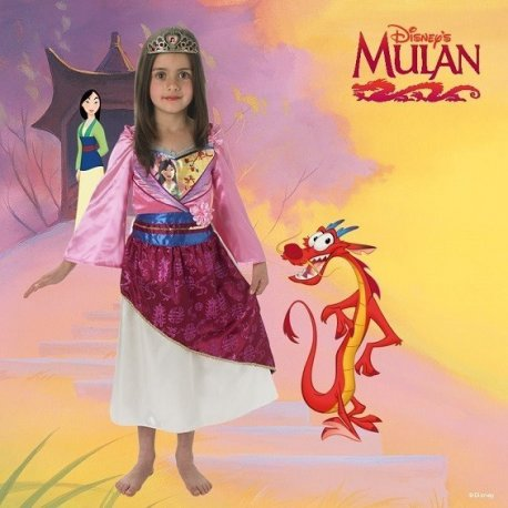 Costum Disney Printesa Mulan