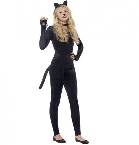 Costum Pisica Neagra Halloween Fete Asdolescente