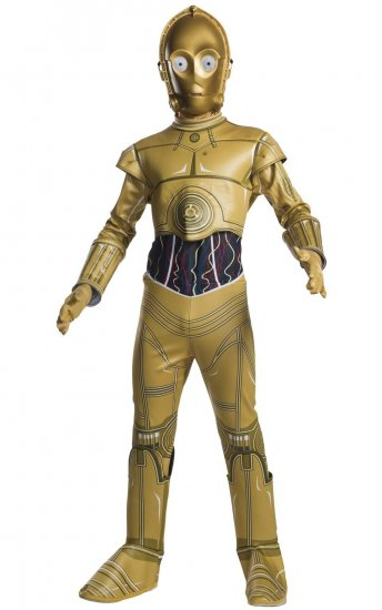 costum-Star-Wars-robot-C-3PO-copii-complet
