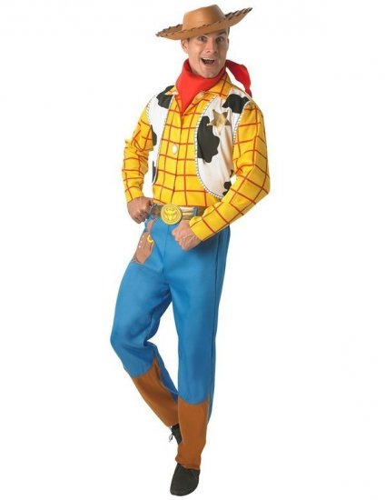 Costum cowboy adult Disney Woody Toy Story