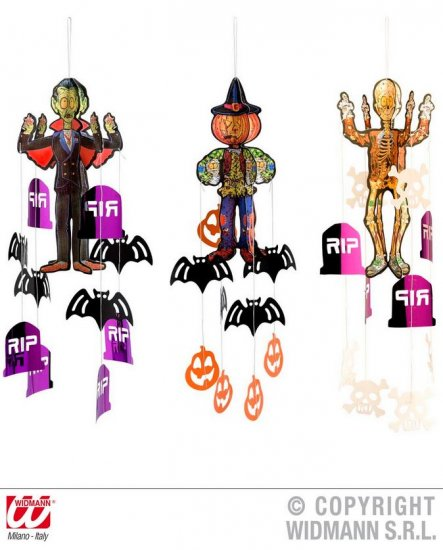 Decoratiuni Halloween suspendate