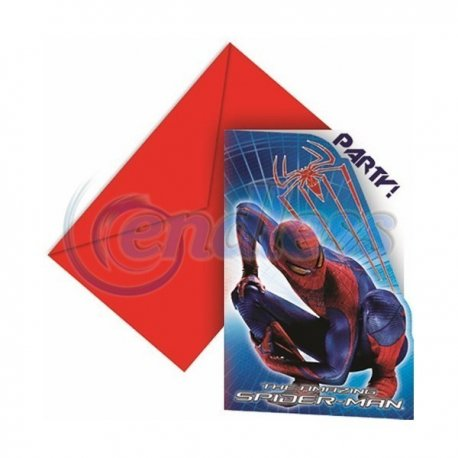 invitatii-spiderman-amazing-party