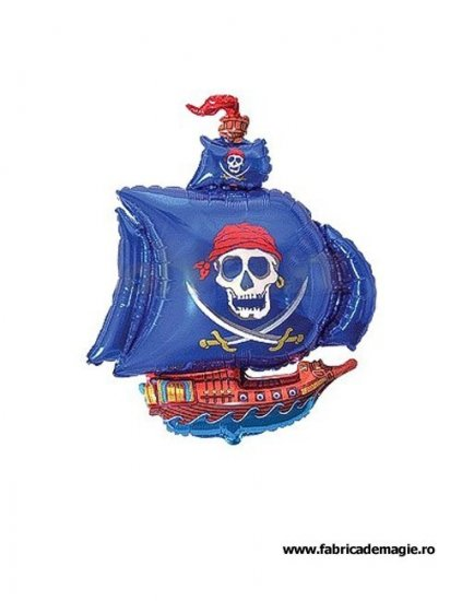 Balon corabia piratilor  gigant