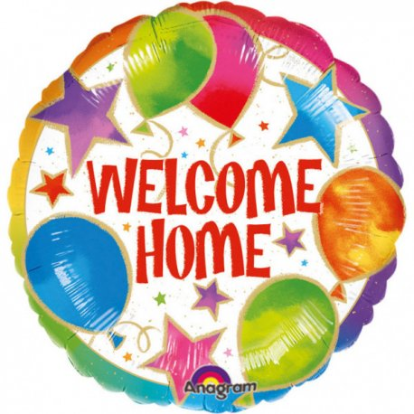 Balon folie 45 cm Welcome Home