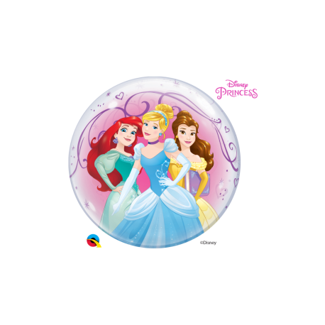 Balon bubble printese disney 56 cm