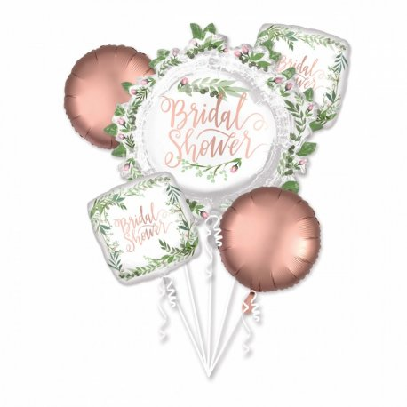 Buchet baloane Bridal Shower, set 5 bucati