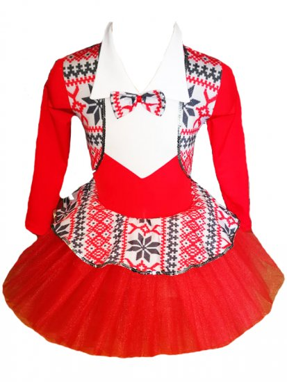 costum-rochita-balerina-rosie-cu-motive-traditionale