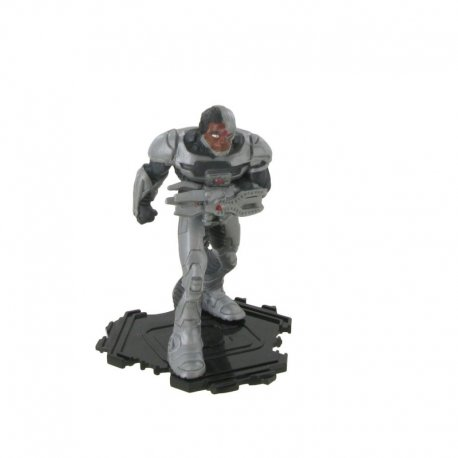 Figurina Comansi - Justice League- Cyborg