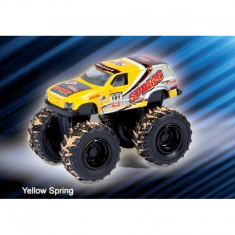 Jucarie Monster Truck 4x4 die cast metalic 1:58