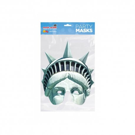 Masca party Statuia Libertatii - 25 X 21