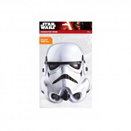Masca party  Stormtrooper Clasica - 24 X 21 cm
