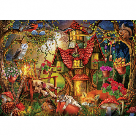 Puzzle 1000 piese - Sleepy Time