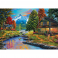 Puzzle 2000 piese - Two Shores A Forest
