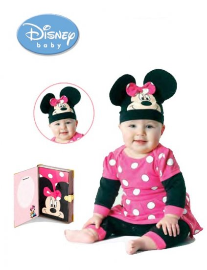 Pijama copii bebe Disney Minnie Playama